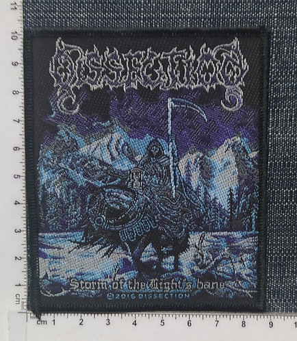 DISSECTION - STORM OF THE LIGHT´S BANE WOVEN PATCH