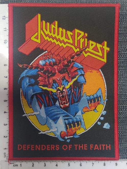 JUDAS PRIEST - DEFENDERS OF THE FAITH WOVEN PATCH