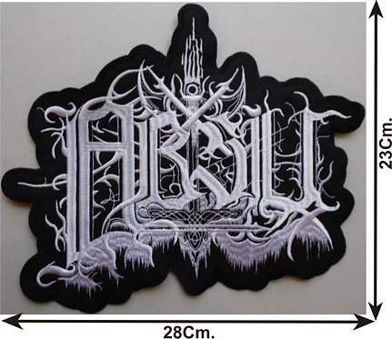 ABSU - LOGO EMBROIDERED BACK PATCH