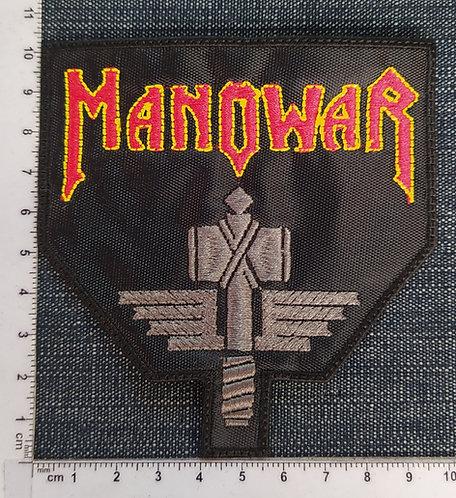 MANOWAR - HAMMER LOGO EMBROIDERED PATCH