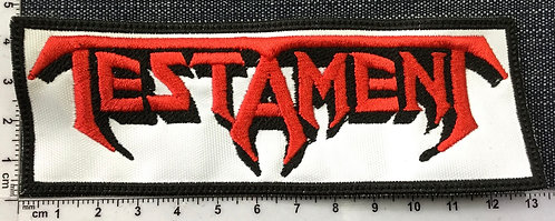 TESTAMET - LOGO EMBROIDERED PATCH