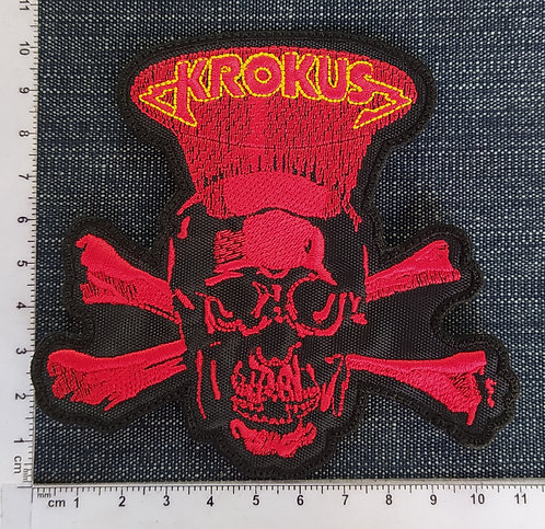 KROKUS - HEADHUNTER EMBROIDERED PATCH