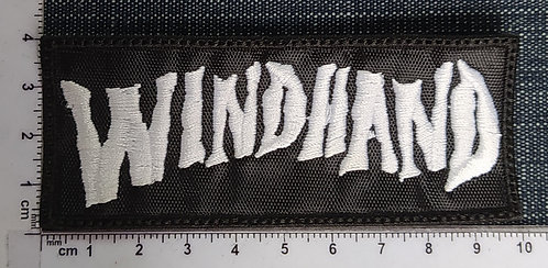 WINDHAND - LOGO EMBROIDERED PATCH