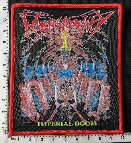 MONSTROCITY - IMPERIAL DOOM WOVEN PATCH