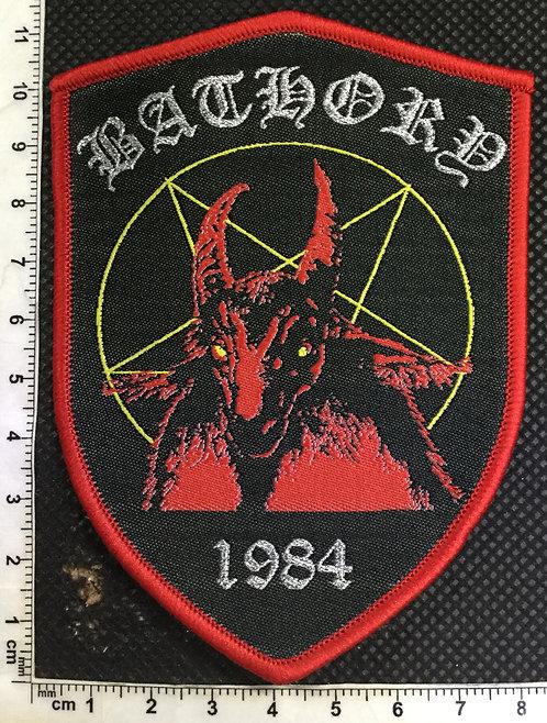 Bathory - 1984 Woven patch