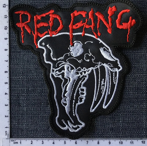 RED FANG - LOGO EMBROIDERED PATCH