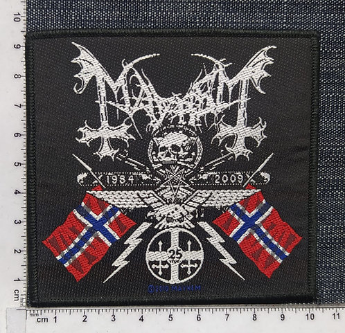 MAYHEM - COAT OF ARMS WOVEN PATCH