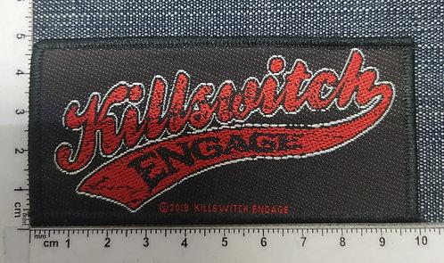 KILLSWITCH ENGAGE - BASEBALL LOGO WOVEN PATH