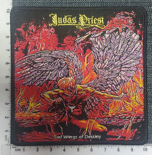 JUDAS PRIEST - SAD WINGS OF DESTINY WOVEN PATCH