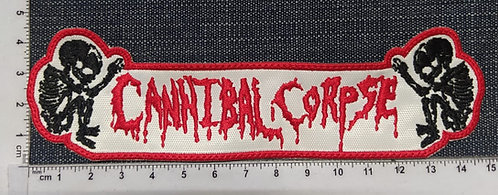 CANNIBAL CORPSE - FETUS LOGO SHAPED EMBROIDERED PATCH
