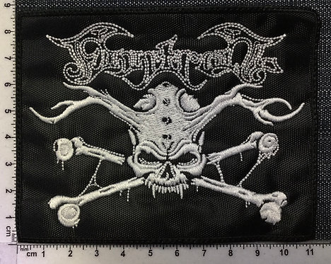 FIVE FINGER DEATH PUNCH - SHAPED EMBROIDERED PATCH