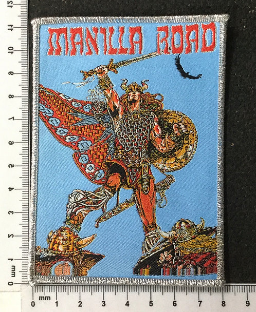 MANILLA ROAD - MARK OF THE BEAST WOVEN PATCH