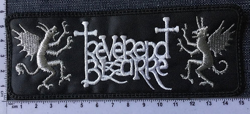 REVERED BIZARRE - LOGO EMBROIDERED PATCH