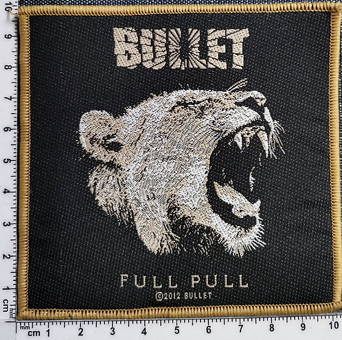 BULLET - Full Pull Woven Patch