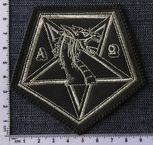 NECROMANTIA - EMBROIDERED PATCH