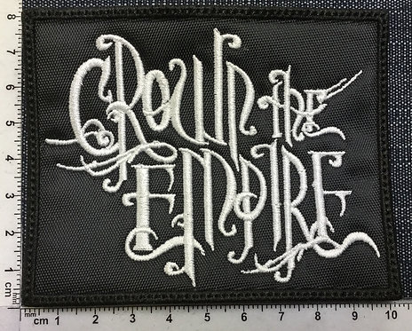 CROWN THE EMPIRE - LOGO EMBROIDERED PATCH