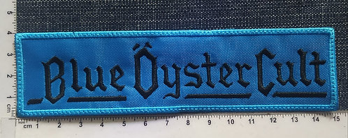 BLUE ÖYSTER CULT - LARGE LOGO EMBROIDERED PATCH