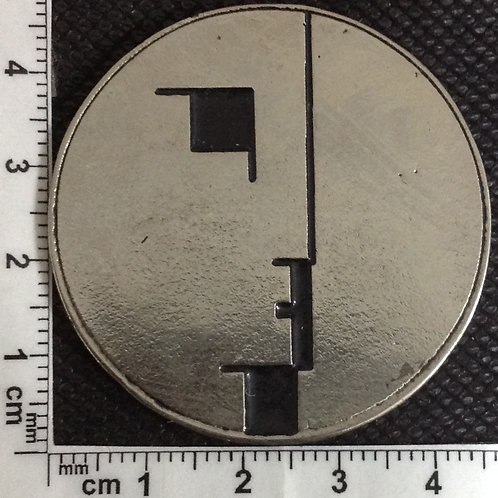 BAUHAUS - LOGO Metal Pin