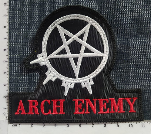 ARCH ENEMY - PENTAGRAM EMBROIDERED PATCH