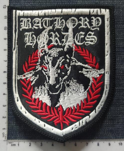 BATHORY - HORDES SHIELD LOGO Patch