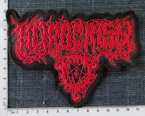 HYPOCRISY - LOGO EMBROIDERED PATCH
