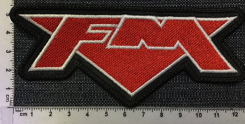 FM - LOGO EMBROIDERED PATCH