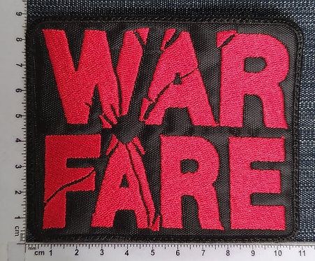 WARFARE - LOGO EMBROIDERED PATCH