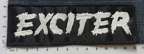 EXCITER - LOGO EMBROIDERED PATCH