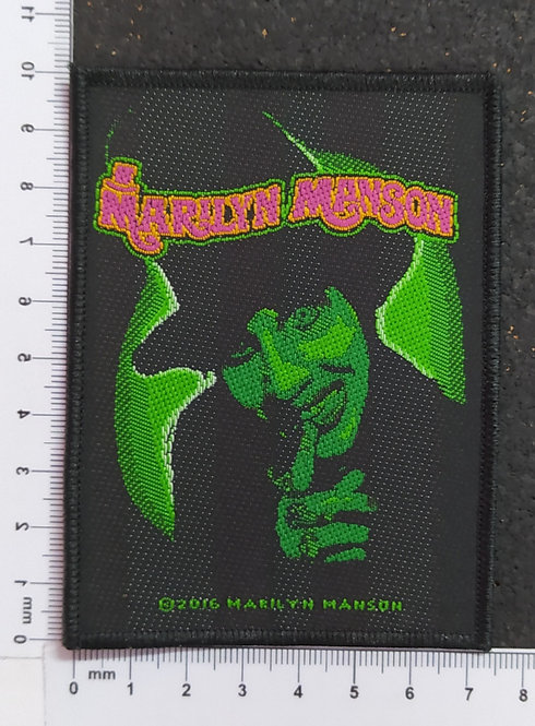 MARILYN MANSON - SMELLS LIKE CHILDREN WOVEN PATCH