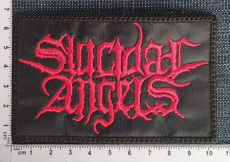 SUICIDAL ANGELS - LOGO EMBROIDERED PATCH