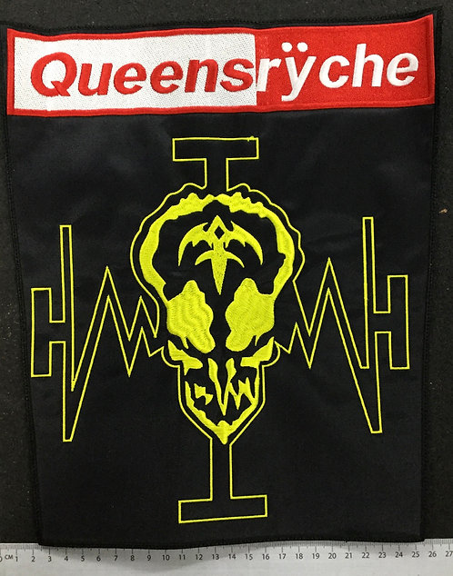 QUEENSRYCHE - OPERATION EMBROIDERED BACK PATCH