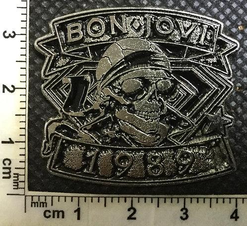 BON JOVI - 1989 Metal pin