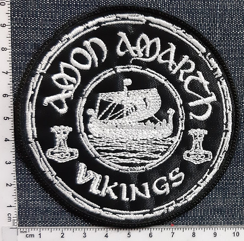 AMON AMARTH - VIKING ROUMS LOGO Patch
