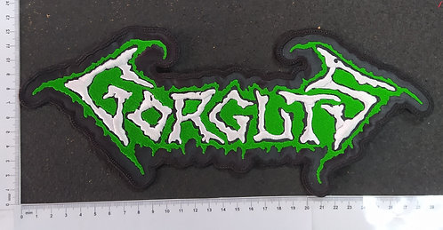 GORGUTS - LOGO EMBROIDERED BACKPATCH