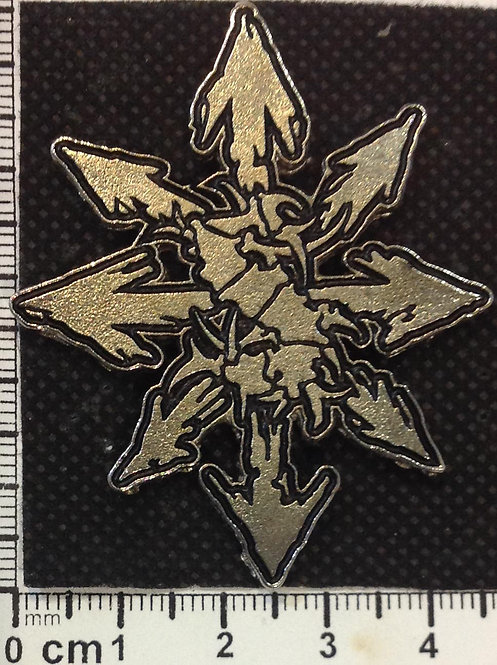 SEPULTURA - TRIBAL  Metal Pin