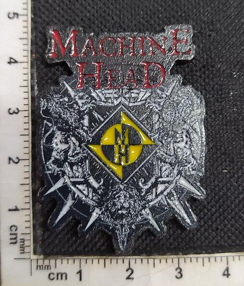 MACHINE HEAD - COLOR Metal Pin