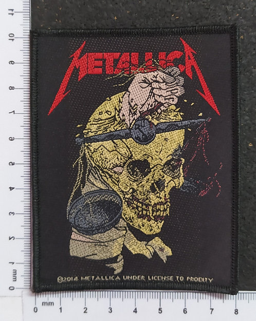 METALLICA - HARVESTER OF SORROW WOVEN PATCH