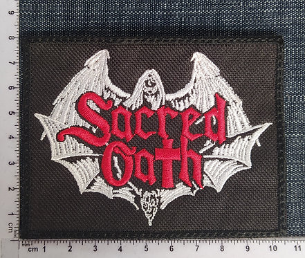 SACRED OATH - LOGO EMBROIDERED PATCH