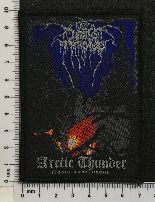 DARK THRONE - ARCTIC THUNDER WOVEN PATCH
