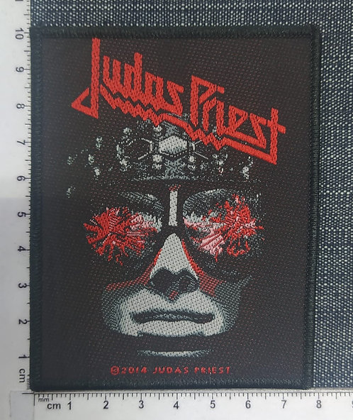 JUDAS PRIEST - HELL BENT FOR LEATHER WOVEN PATCH