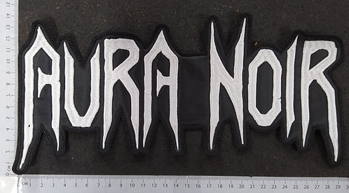 AURA NOIR - LOGO EMBROIDERED BACK PATCH