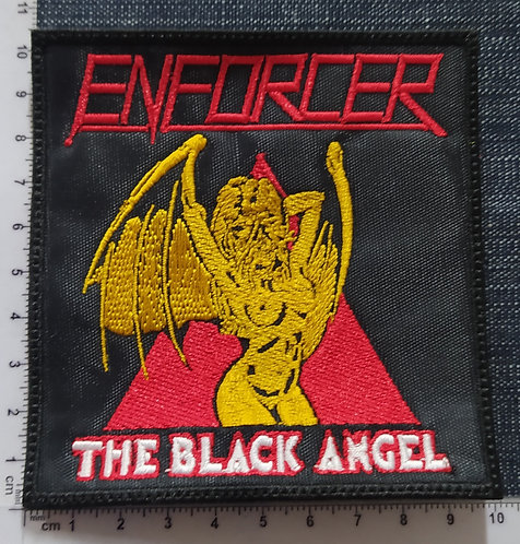 ENFORCER - THE BLACK ANGEL EMBROIDERED PATCH
