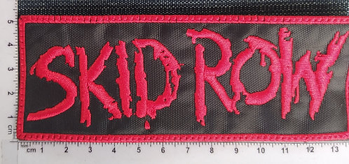 SKID ROW - LOGO EMBROIDERED PATCH