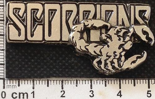 SCORPIONS - LOGO Metal Pin