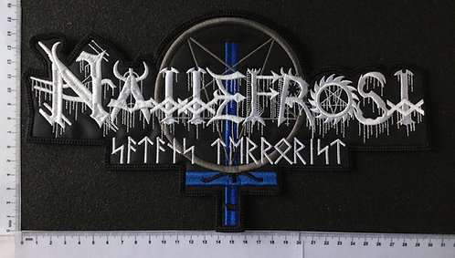 NATTEFROST - EMBROIDERED BACK PATCH