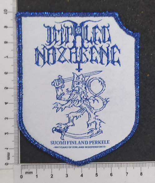 IMPALED NAZARENE - SUOMIFINLAND PERKELE WOVEN PATCH