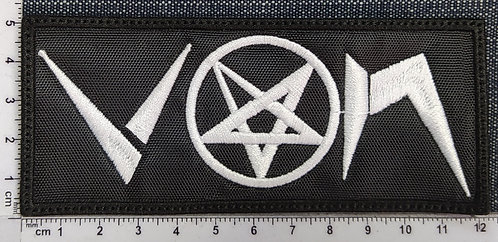 VON - LOGO EMBROIDERED PATCH