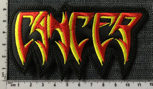 CANCER - LOGO EMBROIDERED PATCH