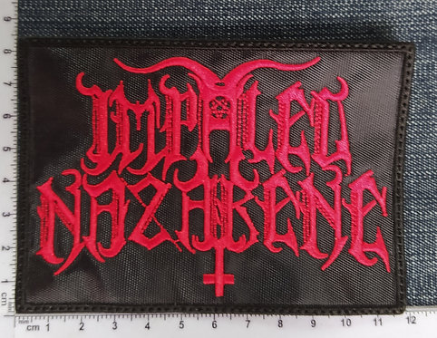 IMPALED NAZARENE - LOGO EMBROIDERED PATCH