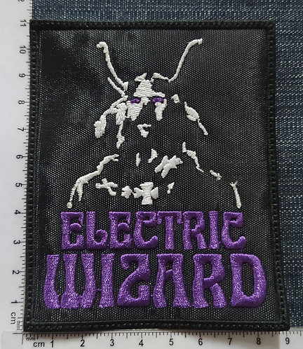 ELECTRIC WIZARD - WITCHCULT LOGO EMBROIDERED PATCH